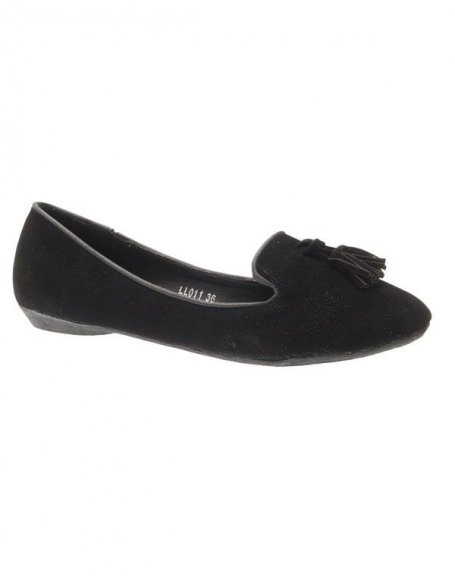 Chaussure femme Style Shoes: Ballerine noir
