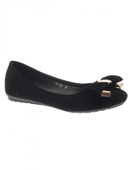 Chaussure femme Style Shoes: Ballerine noire