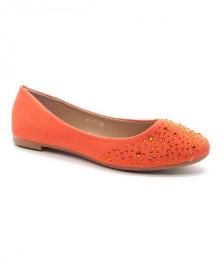 Chaussure femme Style Shoes: Ballerines - corail