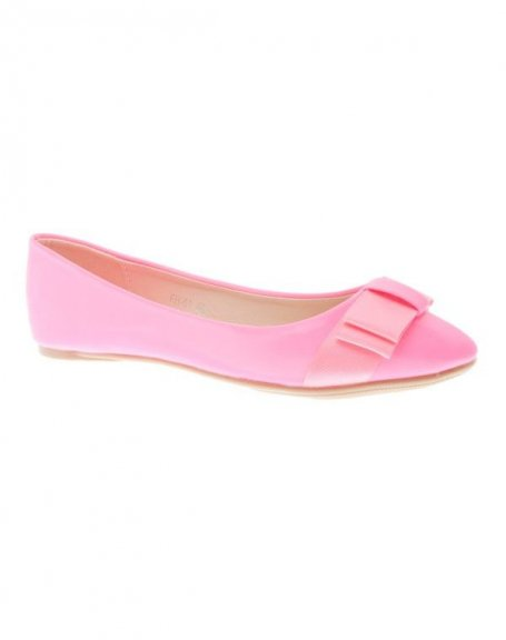 Chaussure femme Style Shoes: Ballerines fuchsia