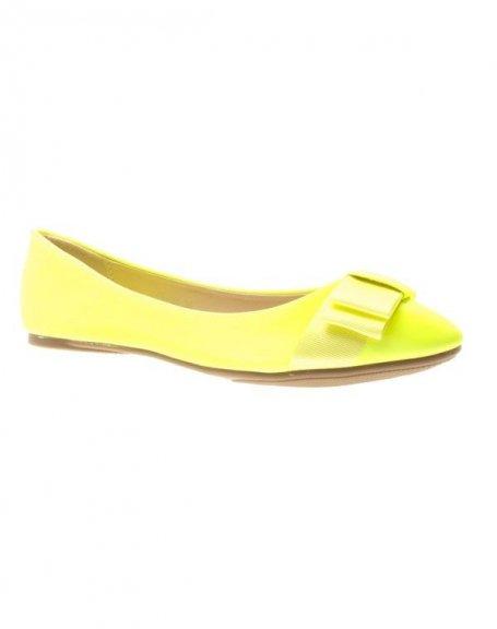 Chaussure femme Style Shoes: Ballerines jaunes