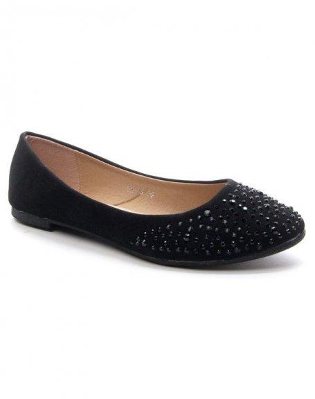 Chaussure femme Style Shoes: Ballerines - noir