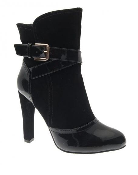 Chaussure femme Style Shoes: Botte noire