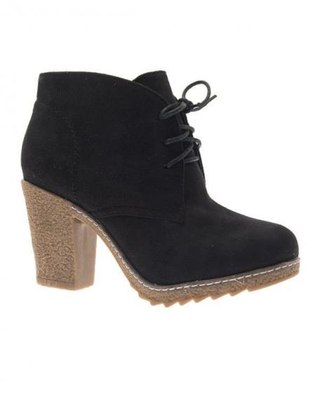 Chaussure femme Style Shoes: Bottine noire