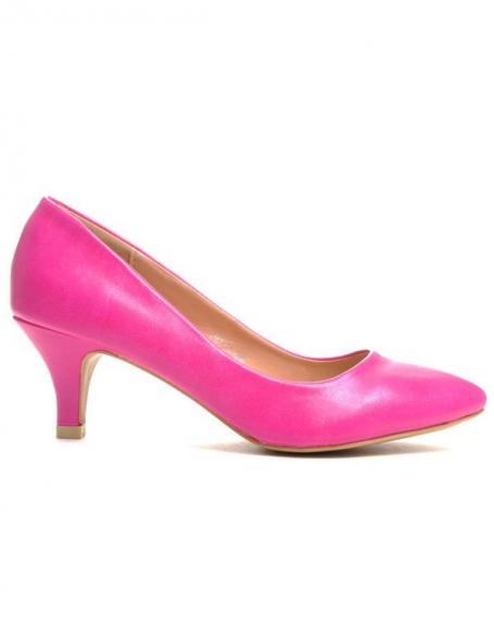 Chaussure femme Style Shoes: Escarpin fuchsia