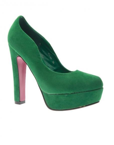 Chaussure femme Style Shoes: Escarpin vert