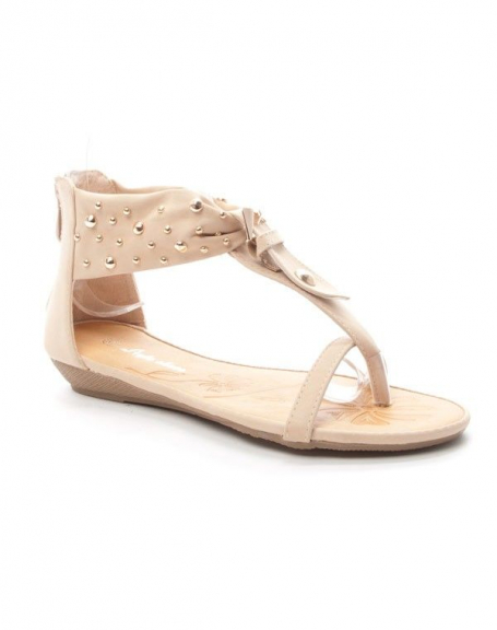 Chaussure femme Style Shoes: Sandale - beige