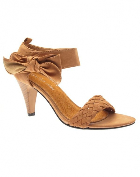 Chaussure femme Style Shoes: Sandale camel