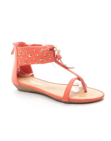 Chaussure femme Style Shoes: Sandale - rose