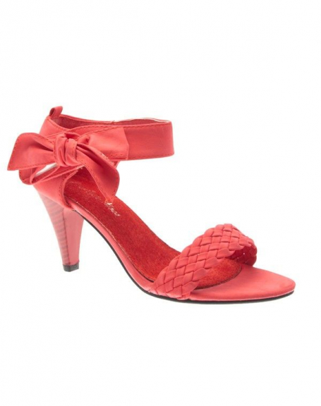 Chaussure femme Style Shoes: Sandale rouge