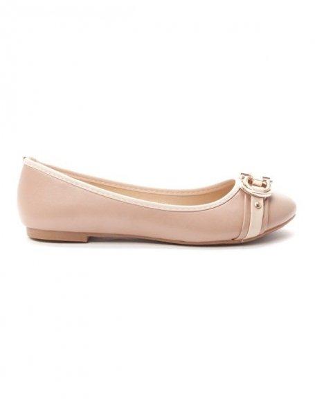 Chaussures femme Alicia: Ballerine - kaki