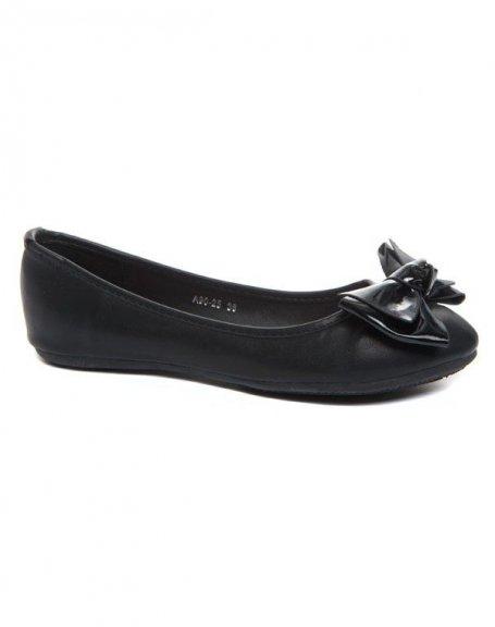 Chaussures femme Alicia: Ballerine noire