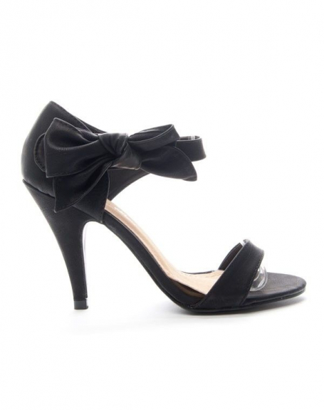 Chaussures femme Alicia: Escarpin ouvert - noir