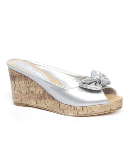 Chaussures femme Alicia: Sandales argent