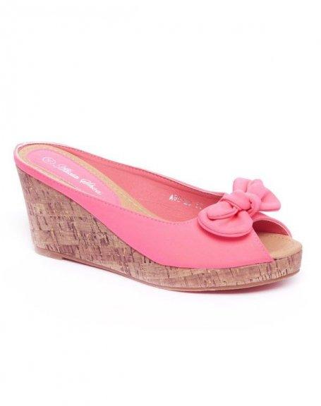 Chaussures femme Alicia: Sandales fuchsia
