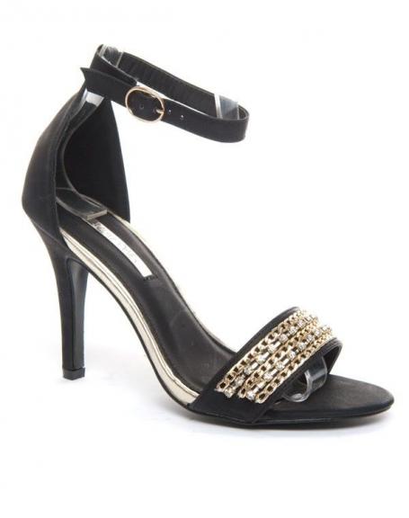 Chaussures femme Alicia: Sandales noires