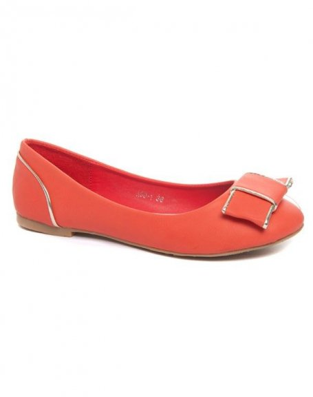 Chaussures femme Alicia Shoes: Ballerine rouge