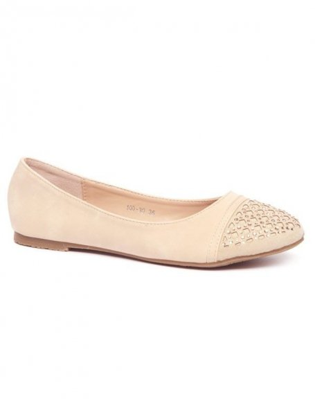 Chaussures femme Alicia Shoes: Ballerines abricot