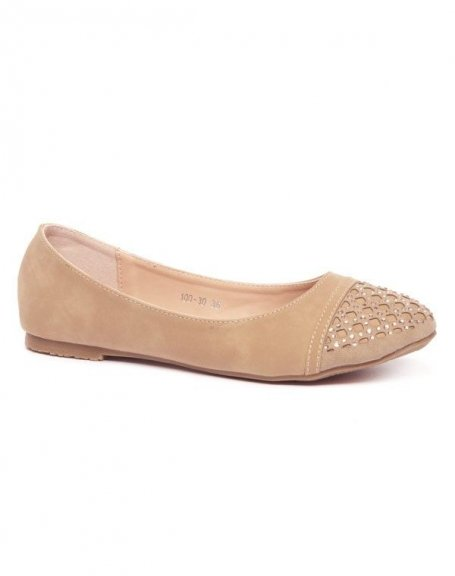 Chaussures femme Alicia Shoes: Ballerines kakis