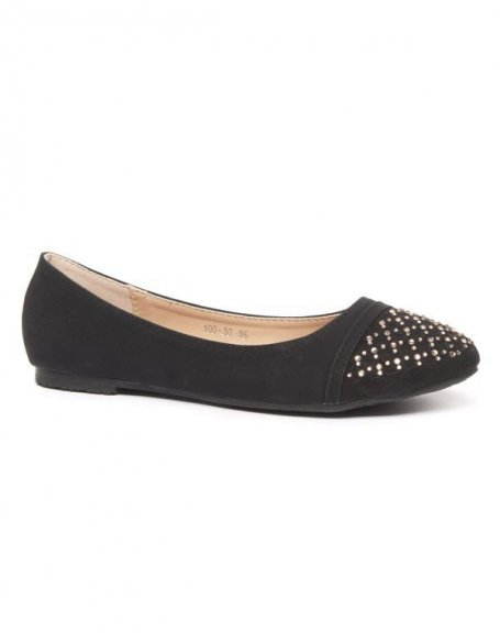 Chaussures femme Alicia Shoes: Ballerines noires