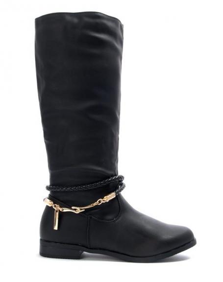 Chaussures femme Alicia Shoes: Botte noire