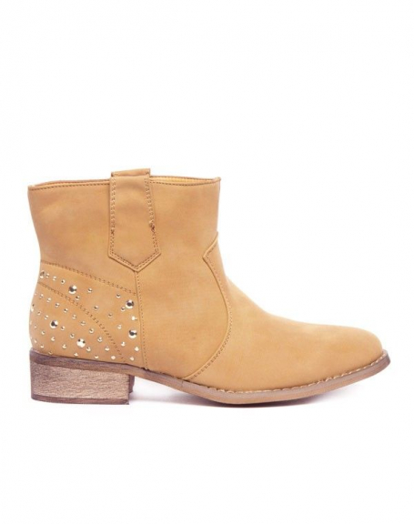 Chaussures femme Alicia Shoes: Bottes camels