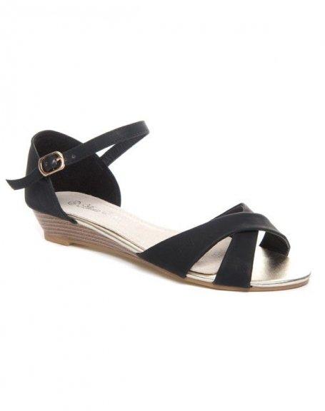 Chaussures femme Alicia Shoes: Sandale noire