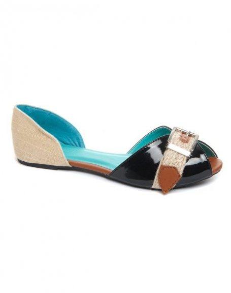 Chaussures femme Bellucci: ballerines noires