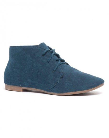 Chaussures femme Bellucci: Derbies bleues