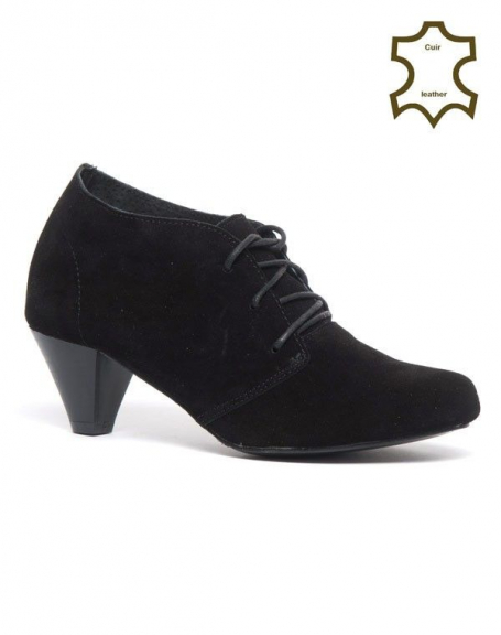 Chaussures femme Bellucci: Richelieu Cuir noir