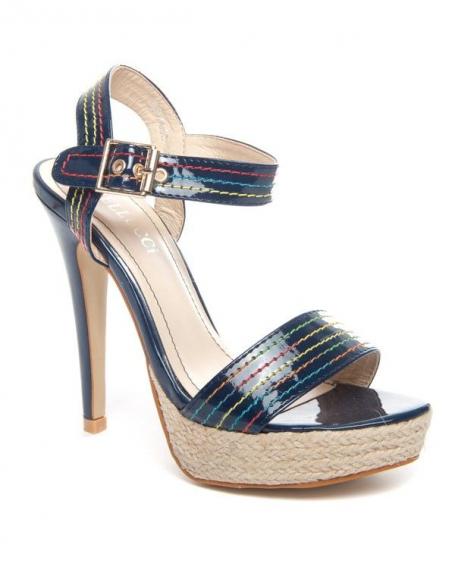 Chaussures femme Bellucci: Sandale bleue