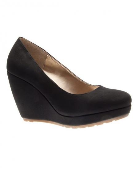 Chaussures femme C.H. Creation: Escarpins compensés noires