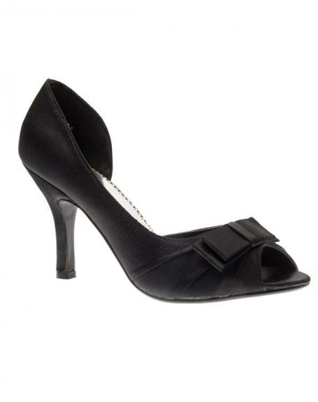 Chaussures femme C.H. Creation: Escarpins ouvert noir