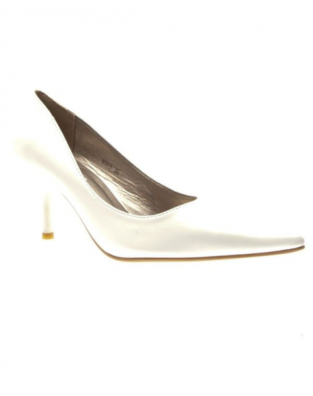 Chaussures femme C.H. Creation: Escarpins pointus Blancs