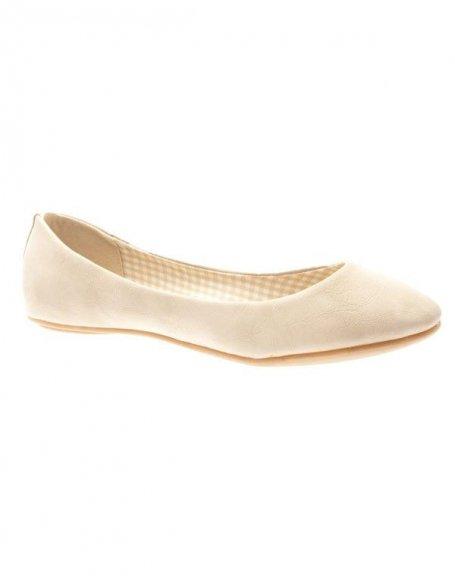 Chaussures femme Farasion: Ballerines beige