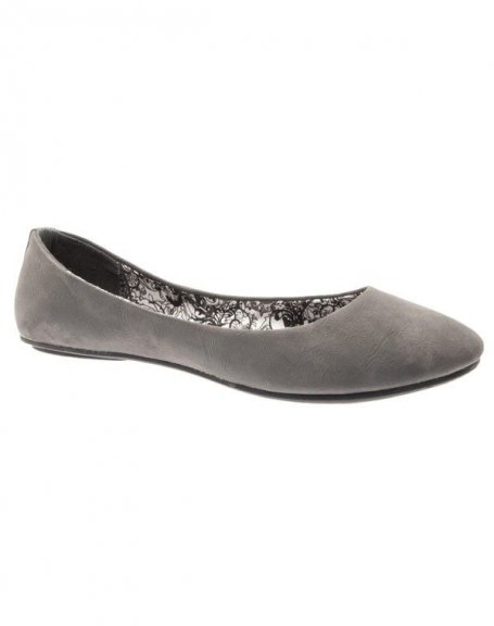 Chaussures femme Farasion: Ballerines grises