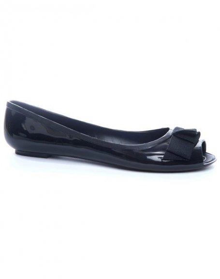 Chaussures femme Ideal: Ballerines noires