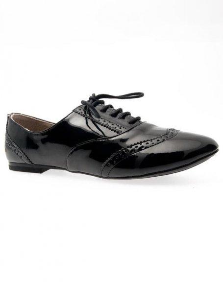 Chaussures femme Ideal: Derbies noires
