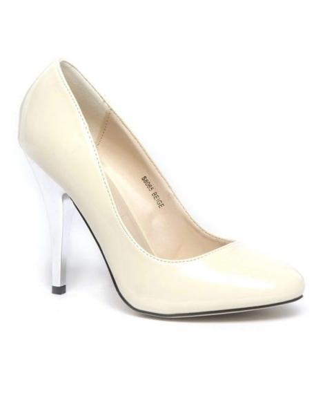 Chaussures femme Ideal: Escarpins beiges