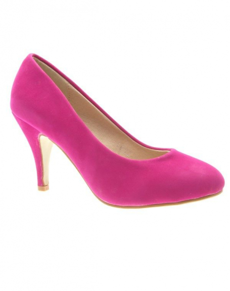 Chaussures femme Ideal: Escarpins fuchsia