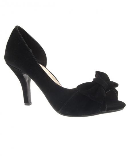 Chaussures femme Ideal: Escarpins noirs
