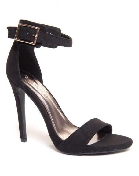 vente à bas prix recherche d'authentique vente au royaume uni Chaussures femme Ideal: Sandales à talons noirs