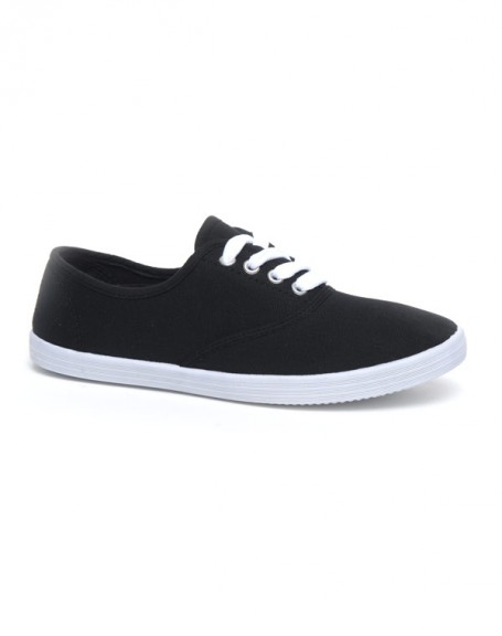 Chaussures femme Ideal: Tennis noir