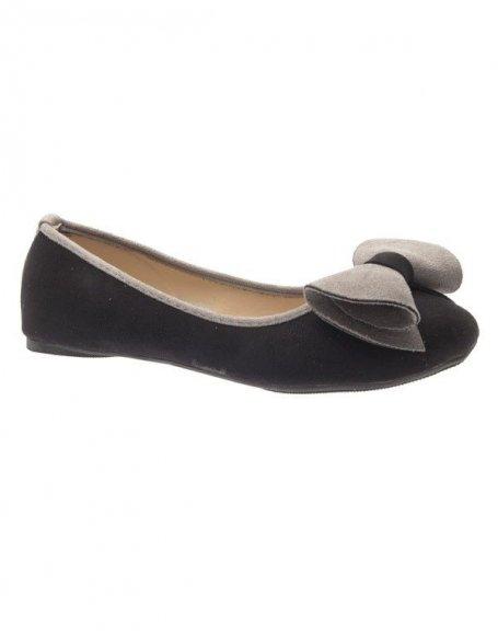 Chaussures femme Jennika: Ballerines noires
