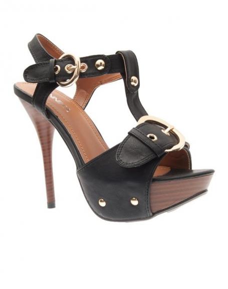 Chaussures femme Jennika: Escarpin noir