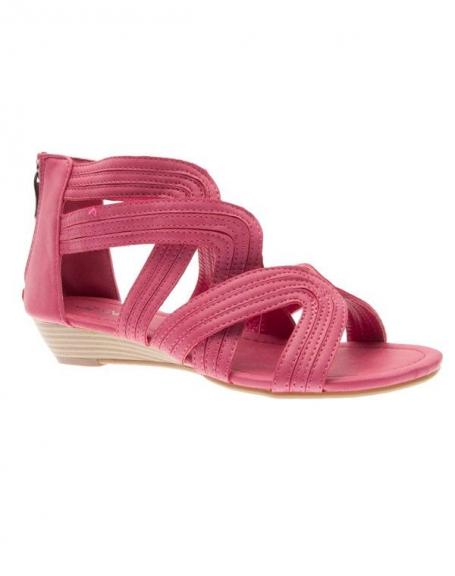 Chaussures femme Jennika: Tong fuchsia