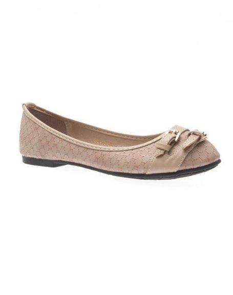Chaussures femme Just Woman: Ballerines kaki