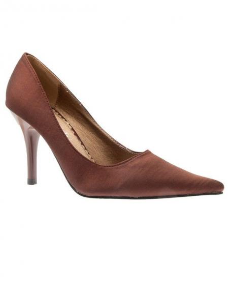 Chaussures femme Laura Mode: Escarpins marron
