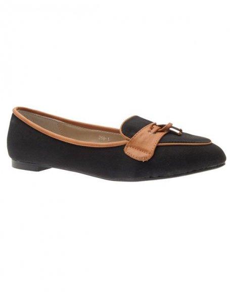 Chaussures femme Laura Mode: Mocassins noir
