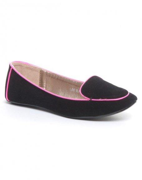 Chaussures femme Metalika: Ballerines noire
